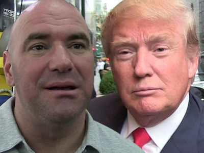 Dana White -- Yes, I'm Speaking At Republican Convention ... 'About The Trump That I Know'