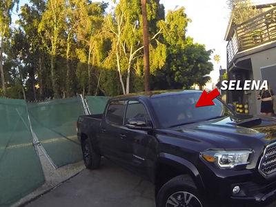 Selena Gomez -- My Dilemma ... Backing It Up! (VIDEO)
