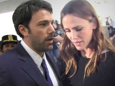 Ben Affleck, Jennifer Garner -- Divorce Gone Nowhere