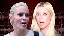 Tara Reid vs. Jenny McCarthy -- Epic Trash Talk Over Boobs and Bad Surgery (AUDIO)