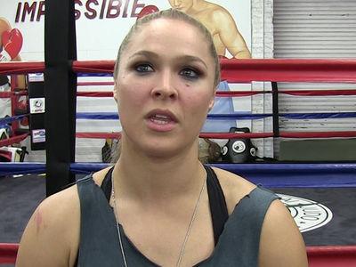 Ronda Rousey -- Not Preggo