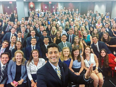 Paul Ryan -- Speaker of the White House (PHOTO)