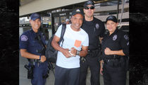 Sugar Ray Leonard -- Standing Up for L.A. Cops (PHOTO)