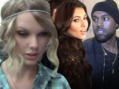 Taylor Swift -- Mulling Over Crime Report Against Kim and Kanye