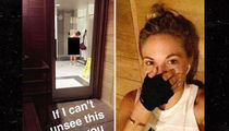 Playboy Playmate Dani Mathers -- Charged with Crime for Snapping Despicable Nude Gym Photo