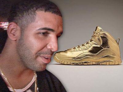 Drake -- Yeezy Shmeezy ... My Gold Kicks Aren't THAT Pricey