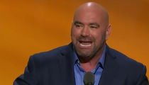 Dana White At RNC -- Trump's A Fighter ... And I Know Fighters!! (VIDEO)