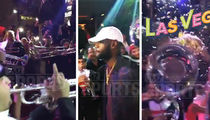 LeBron James -- Greeted By Marching Band ... At Vegas Nightclub (VIDEO)