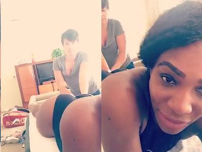 Serena Williams -- Best mASSage Ever (VIDEO)