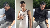 NBA's Jeremy Lin -- French Braids? ... Yep. (PHOTOS + VIDEO)