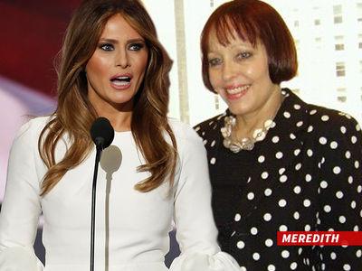 Melania Trump -- Speechwriter Falls on Sword ... Trump Rejects Resignation