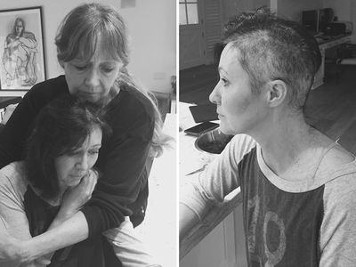 Shannen Doherty -- Shaves Her Head in Breast Cancer Battle (PHOTOS)