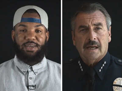 The Game, LAPD Police Chief Beck ... Unite to Stop the Violence (VIDEO)