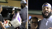 The Game -- Handing Out Hundos To Yo Mama ... And Valets Too (VIDEO + PHOTOS)