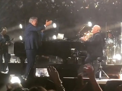 Billy Joel -- Throws 90th Birthday Bash for Tony Bennett (VIDEOS + PHOTO)