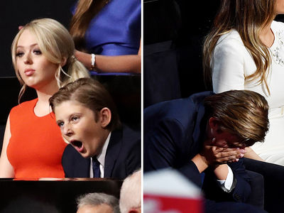 Donald Trump -- There Goes the Son (PHOTOS)