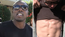 Andre Berto -- Convinces Jacked Photog ... You're a Fightin' Man!!! (VIDEO)