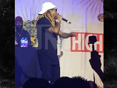 Lil Wayne -- Bad Trip at High Times Gig ... I'll Never Do This Again! (VIDEO)