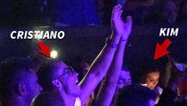 Cristiano Ronaldo -- Dancing Next to Kim Kardashian ... At J Lo Concert (VIDEOS)