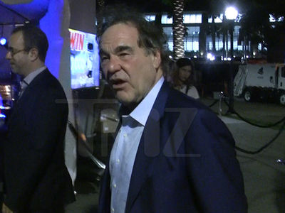 Oliver Stone -- Lit at Comic-Con (VIDEO)