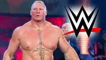 Brock Lesnar -- No WWE Punishment ... for Failed UFC Drug Tests
