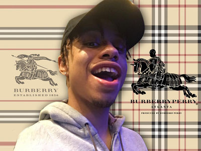 Rapper Burberry Perry Sued -- You're 160 Years Late on Your Name ... So STOP Using It!!!