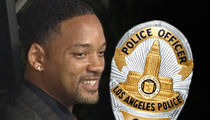 Will Smith -- Makes Surprise Visit to LAPD