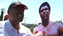 Former Champ Leon Spinks -- 'Muhammad Ali is Still Ugly ... But I Love Him' (VIDEO)