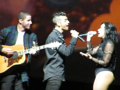 Demi Lovato & Joe Jonas -- We Haven't Forgotten Our Disney Roots!!! (VIDEO)
