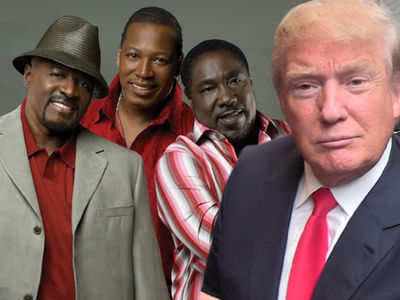 Donald Trump -- 'Apprentice' Theme Now Off Limits ... O'Jays Fire Off Warning