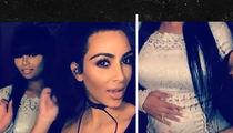 Kim Kardashian & Blac Chyna -- We're 2 Peas & a Baby Bump Again (VIDEO + PHOTO)