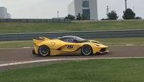 Kobe Bryant -- Retired Life In The Fast Lane ... Shreds The Track In Sick Ferrari (VIDEO)