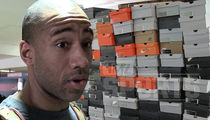 NBA Champ Dahntay Jones -- STORAGE WAR ... You Sold My Rare Nikes!!! (PHOTO GALLERY + VIDEO)