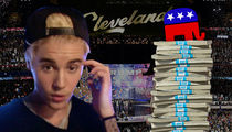 Justin Bieber -- Sorry, GOP ... I'm Not for Sale