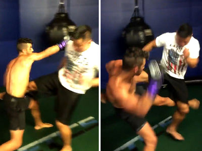 Joe Jonas -- Ache By The Ocean ... Trains MMA With Combat Legend (VIDEO)