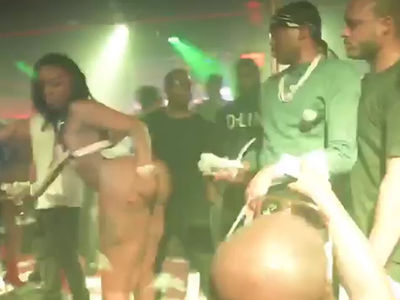 Meek Mill -- Strip Club Redemption ... Just Me and the Crew! (VIDEO)