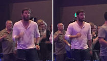 Chris Pratt -- Yes, Star-Lord Line Dances (PHOTOS)