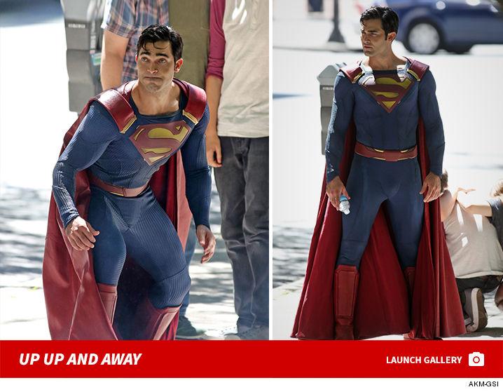 Superman Crashes Supergirl Set  Nice Shinguards Bro Pics