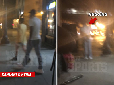 Kyrie Irving & Kehlani -- Hug It Out in Chicago ... But We're 'Just Friends' (PHOTOS)