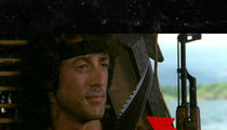 'Rambo' -- Stallone's Famous Knife Destroyed in California Wildfires (PHOTOS)