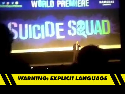 'Suicide Squad' Director -- Sorry 'Bout the F-Bomb, Marvel (VIDEO)