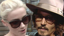 Amber Heard -- I'll Be Back for My Depo ... and Johnny Can Watch