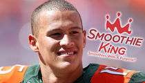 Smoothie King To NCAA Star -- OUR SMOOTHIES ARE PED FREE ... Drink Up, Kid!!