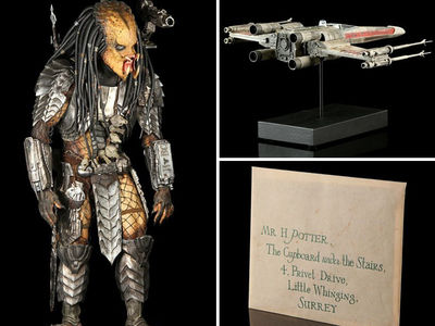 'Star Wars' & 'Harry Potter' -- Nerdgasm Gear Going Once, Going Twice ... (PHOTO GALLERY)