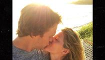 Tom Brady -- Gets 'Happy Birthday' Message from Gisele (PHOTO)