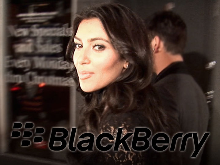 Kim Kardashian -- Never Fear, BlackBerry's Here