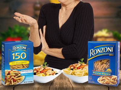 Ronzoni Pasta Sued -- Customers Gunning for a Pretty Penne