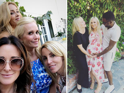 Kyle Richards -- Baby Shower Brings Family Peace (PHOTOS)