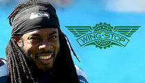 Richard Sherman -- I'm The Wing King ... Opens Seattle Wingstop