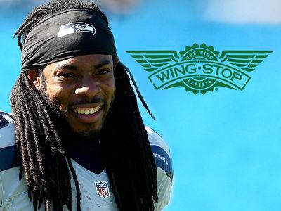 Richard Sherman -- I'm The Wing King ... Opens Seattle Wingstop